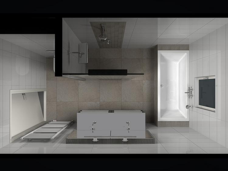 Kleine Badkamer Oplossing : Badkamer idee voor kleine badkamer foto geplaatst door inge op