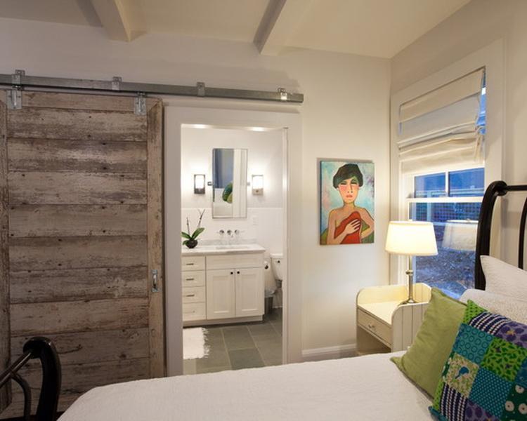 Mooie schuifdeur tussen badkamer en slaapkamer!. Foto geplaatst ...