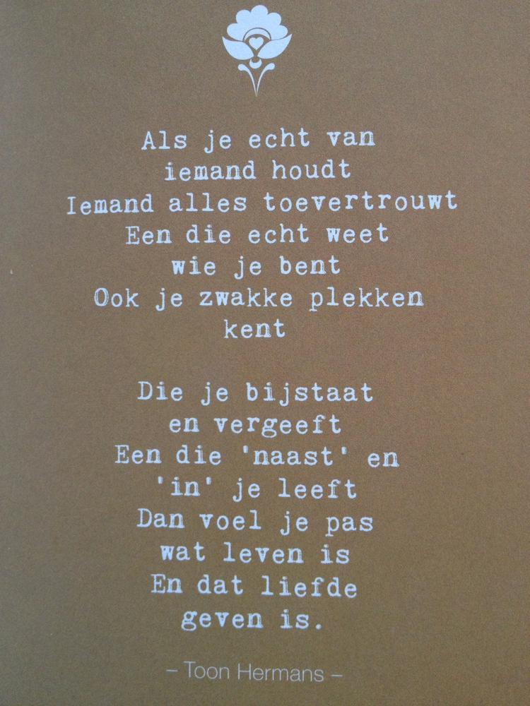 Gedicht Toon Hermans Foto Geplaatst Door Flatteus Op Welkenl