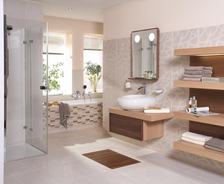 Gebruik hout in badkamer u devolonter
