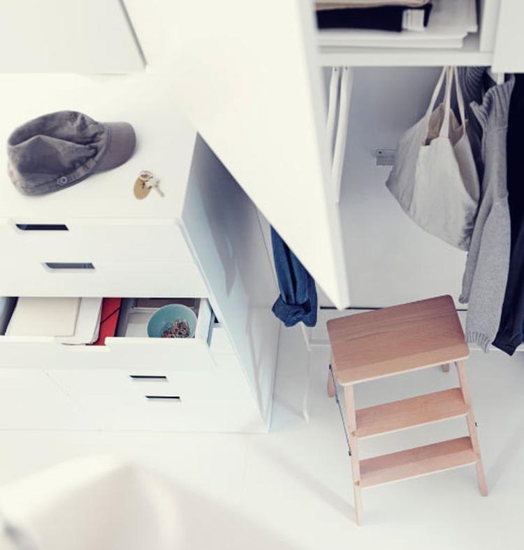 Leuke Wand Voor Opbergen Van Spullen I P V Een Gewone Kast Ikea