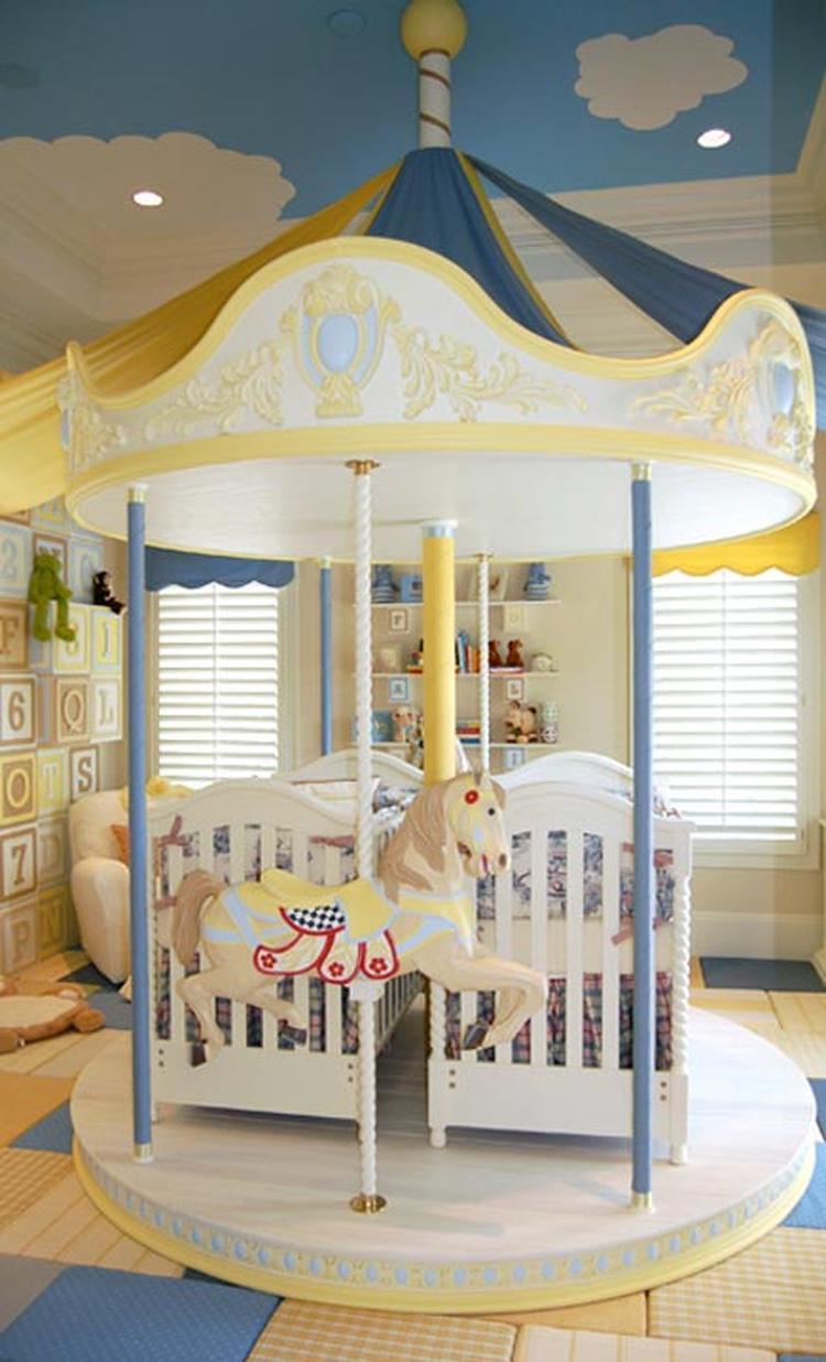 Babykamer tweeling ideeen for Tweeling ledikant