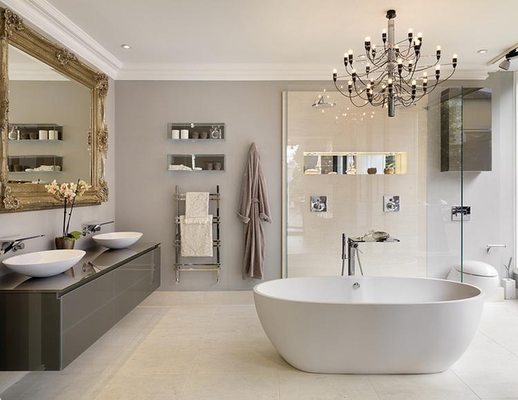 Badkamer Modern Landelijk : Grote badkamer in modern landelijke style een oase van rust kan