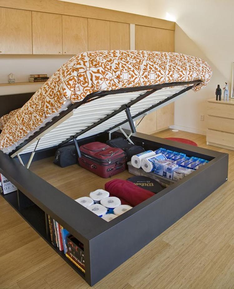 Bekend Zeer Ikea Bedden Met Opbergruimte KF42 | Silverstaken @VX94