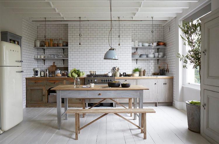 White Keuken Stoere : Leuke keuken stoer landelijk foto geplaatst door