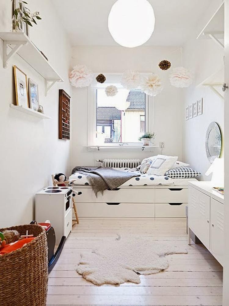 Populair Leuke tienerkamer met veel opbergruimte onder het bed. Foto  ST75