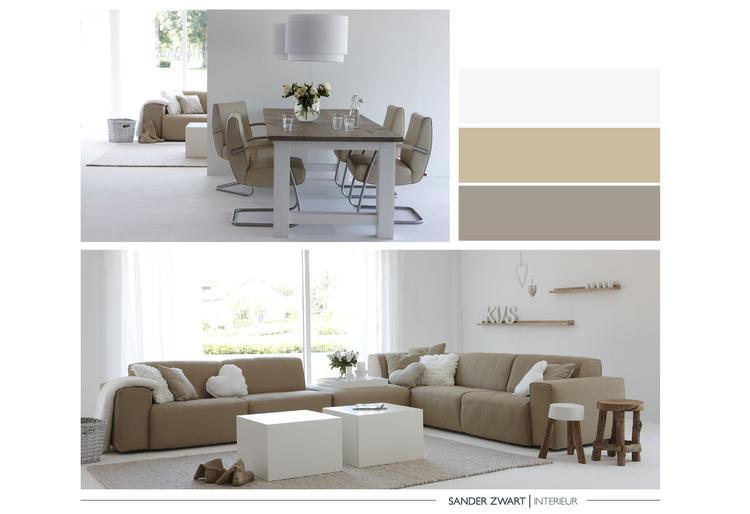 Kies voor mooie zandtinten voor een rustig en basic interieur ...