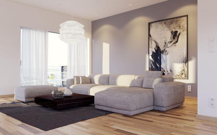 Scandinavische interieur // woonkamer. Foto geplaatst door Ambitious ...