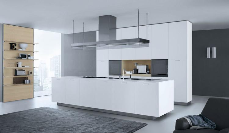 Witte Varenna Kyton keuken met groot werkeiland. Deze Kyton keuken ...
