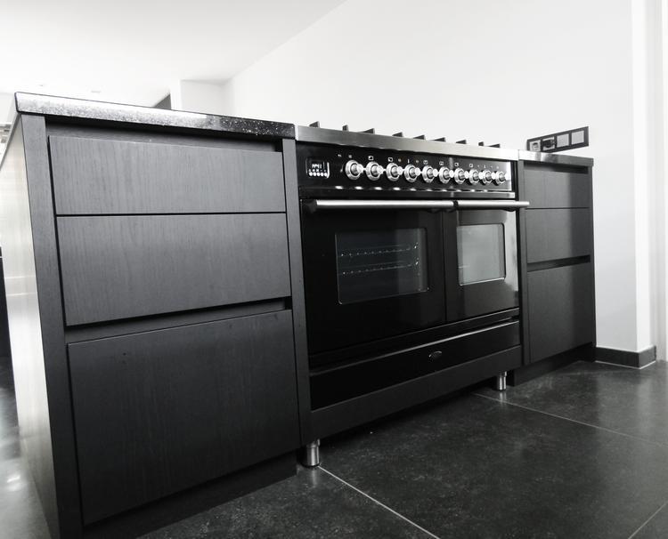 Inspiration Industriele Keuken : Industriele keuken great zwarte industrile keuken with