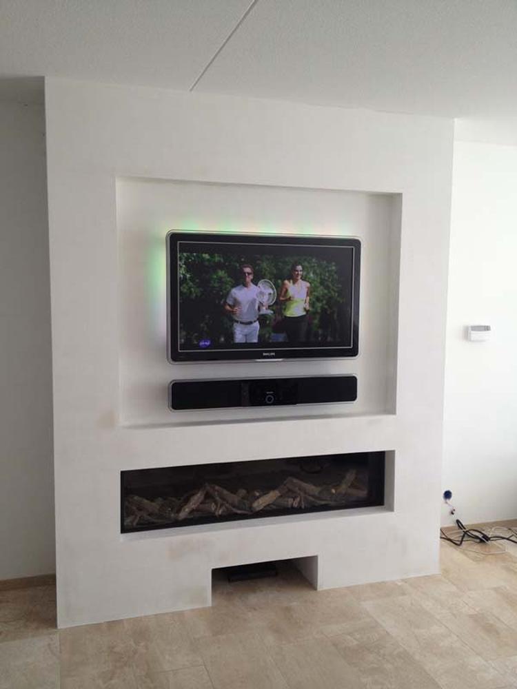 tv nis openhaard. Foto geplaatst door DAB op Welke.nl