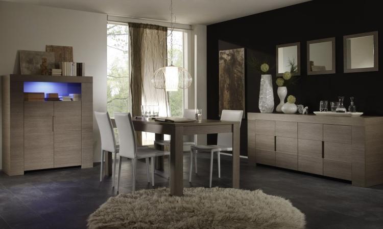 Interieur Woonkamer Eiken : Complete woonkamer gemaakt van hoogwaardig plaatmateriaal