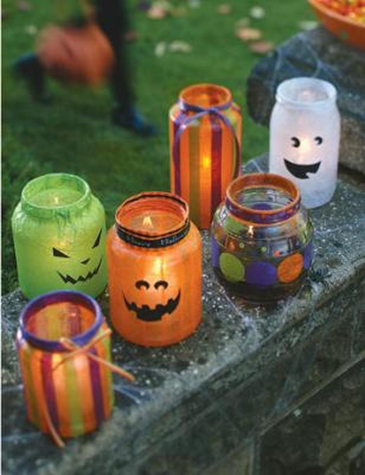 Wat Zeg Je Met Halloween.Halloween Pumpkin How To Decoupage Halloween Lanterns