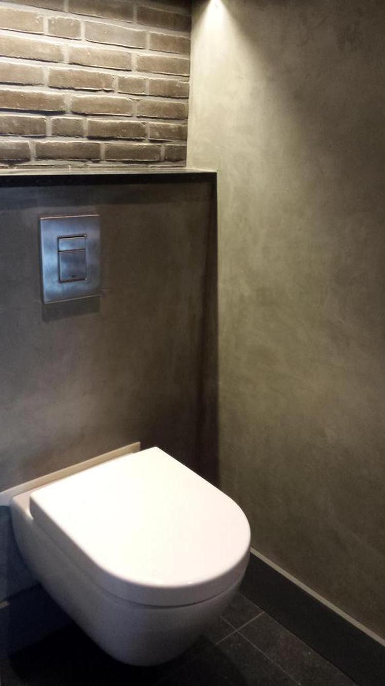 Mooie afwerking voor op het toilet of badkamer.. Foto geplaatst door ...