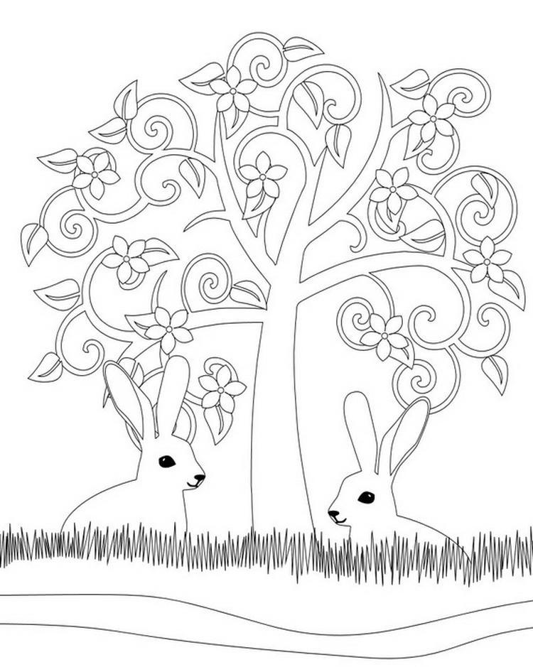 Kleurplaten Volwassenen Pasen.Kleurplaten Voor Volwassenen Voor Pasen Voorjaar Foto Geplaatst