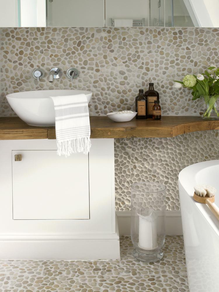 Mooie rustieke badkamer!. Foto geplaatst door homify op Welke.nl