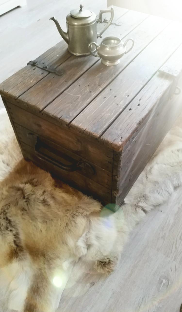 Kist Salon Tafel.Oude Houten Kist Leuk Om Als Salontafel Te Gebruiken Foto