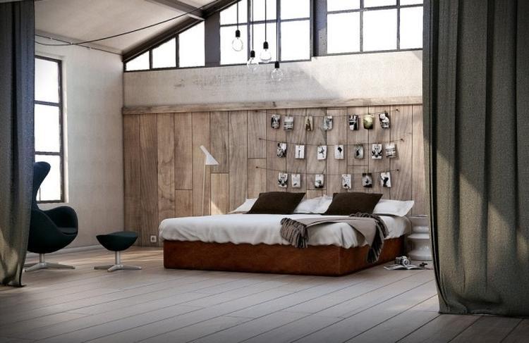 eenvoudige bruine slaapkamer . Foto geplaatst door lienvanmileghem ...