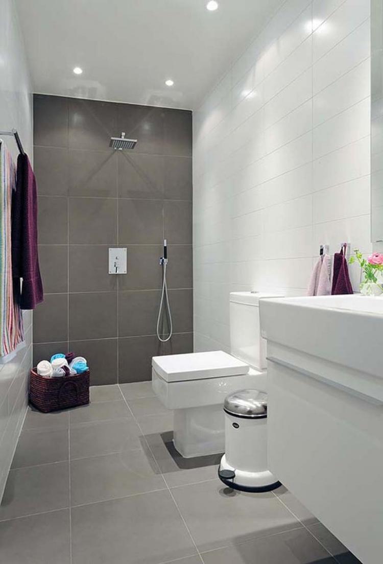 badkamer grijs wit. Foto geplaatst door Marielle10 op Welke.nl