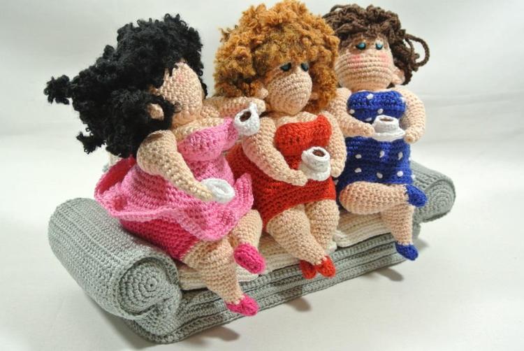 De Dikke Dames Gezellig Aan De Leut Haakpret Foto Geplaatst Door