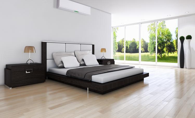 Mooie ruime slaapkamer, strakke vloer met vloerverwarming. Kan met ...