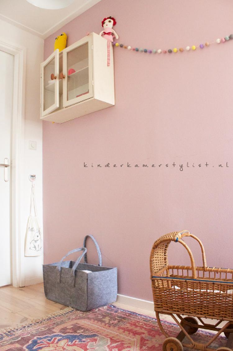 Vintage vloerkleed kinderkamer interieur meubilair idee n - Baby meisje idee ...