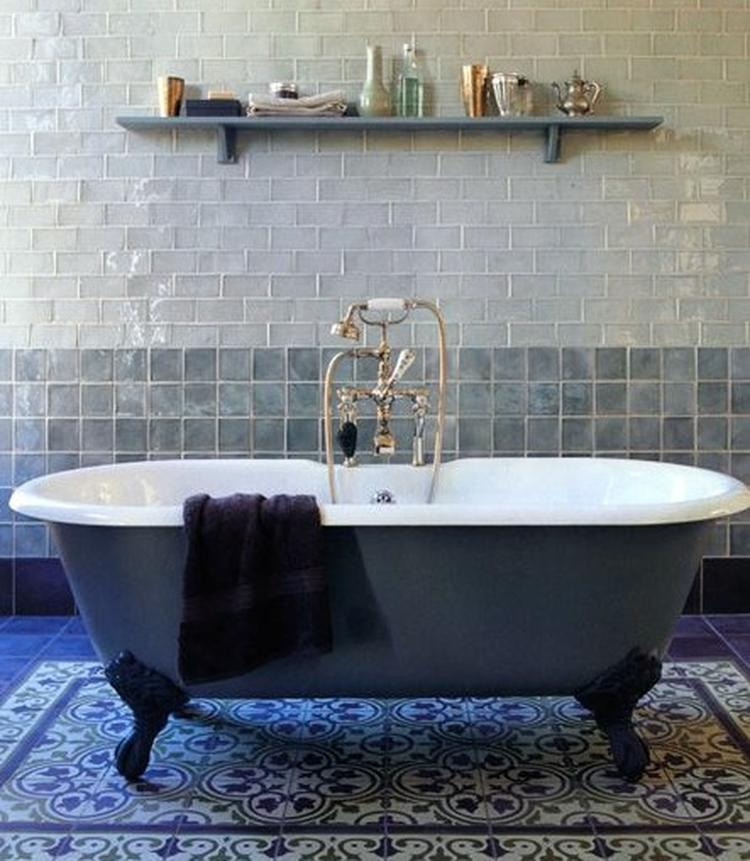 Badkamer in modern Marokkaanse stijl. Foto geplaatst door ...