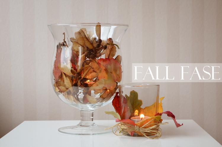 Een hele simpele manier om de herfst in huis te halen zet een
