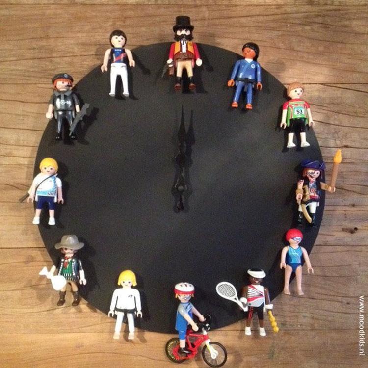 DIY playmobil klok