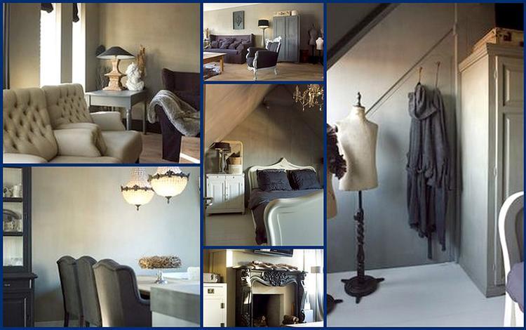Woonkamer En Slaapkamer : Super!! woonkamer slaapkamer en eetkamer in een stijl.. foto