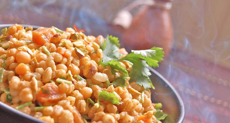 Een echt mediterrane keuken is de marokkaanse keuken. gezond