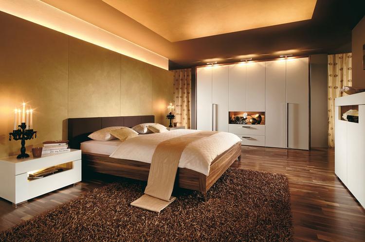 rustgevende slaapkamer met veel indirect licht. foto geplaatst, Deco ideeën