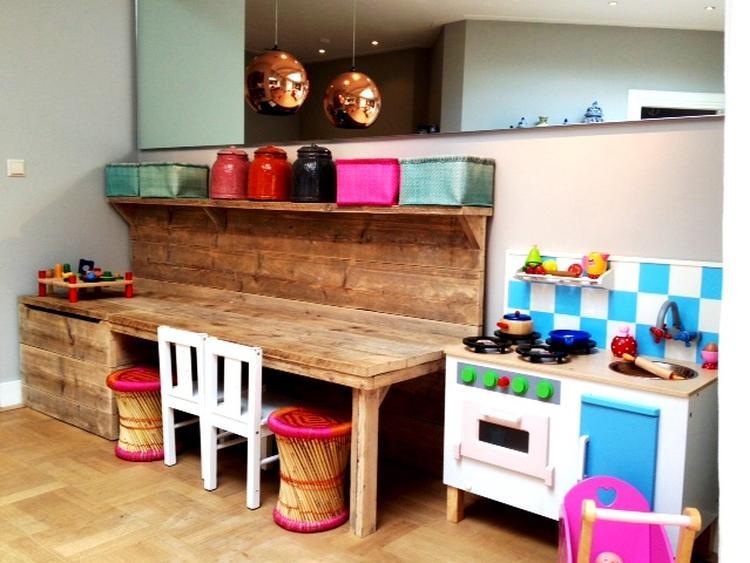 Leuke speelhoek!. Foto geplaatst door Annemieke25 op Welke.nl