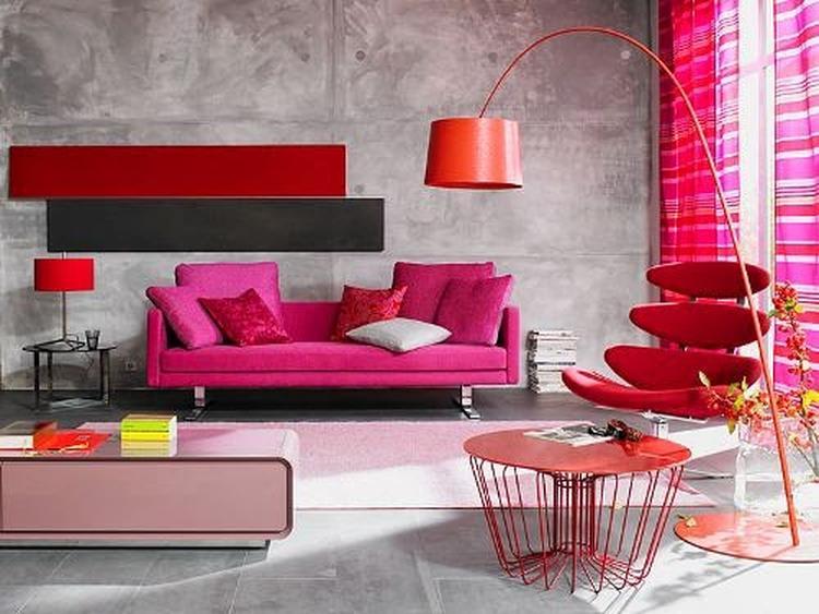 Industrieel roze interieur - inspiratie industrieel - industriele ...