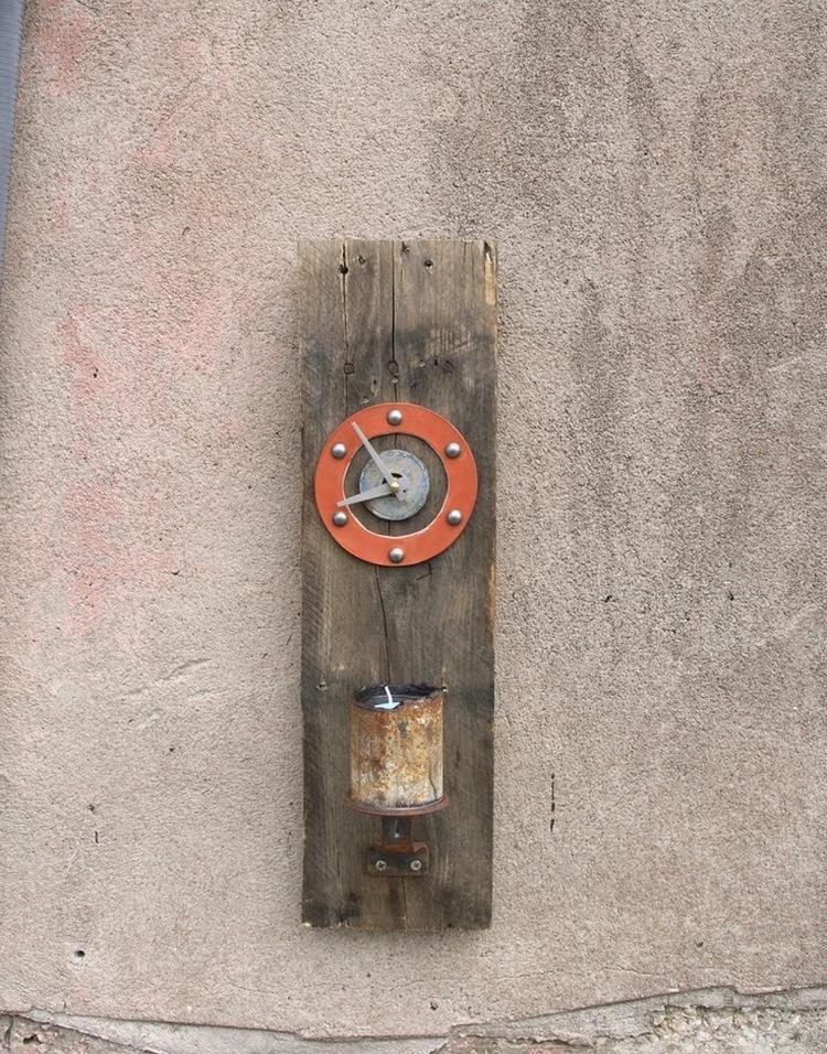 Industriele wanddecoratie - inspiratie industrieel - industriële ...
