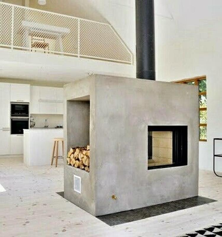 industrile warmte industrieel interieur kachel haard industrile woonkamer