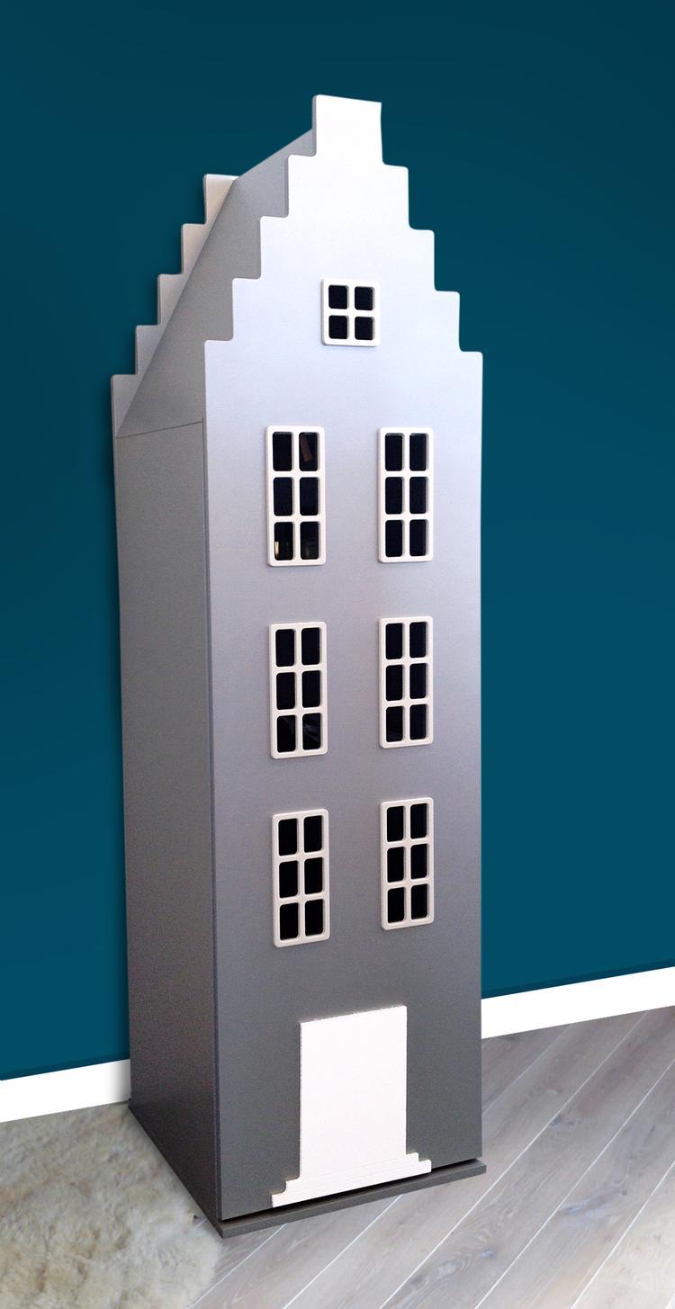 Kast In Zilver Van Kast Van Een Huis Mooie Design Opberger