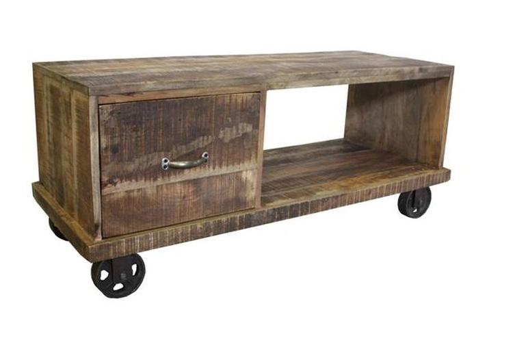 Wielen Voor Meubels : Industrial: tv meubel op wielen. foto geplaatst door zaza op welke.nl