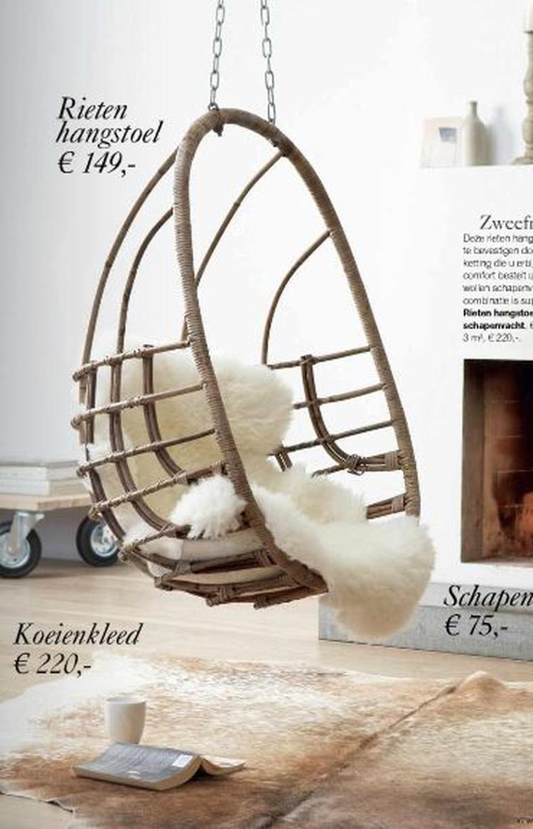 Mooie hangstoel. Foto geplaatst door Mmate op Welke.nl