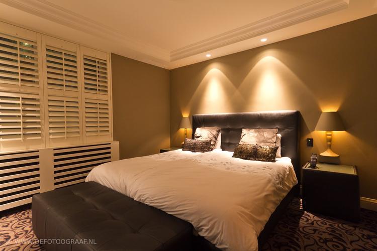 mooie sfeer spotjes in de slaapkamer. foto geplaatst door juliokw, Deco ideeën
