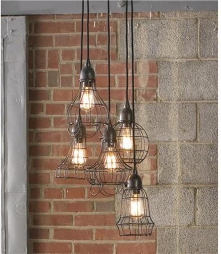 Industrieel interieur - industriële lampen industriële verlichting ...