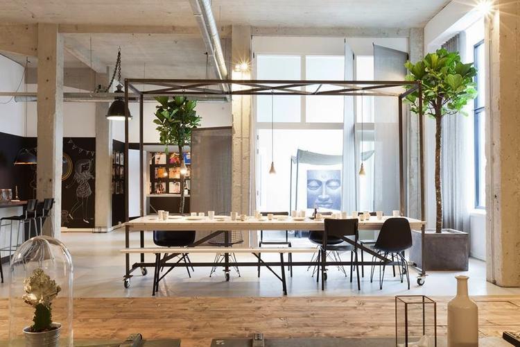 Stoere Industriele Loft : Industriele look woonkamer unique mooie stoere keuken met een