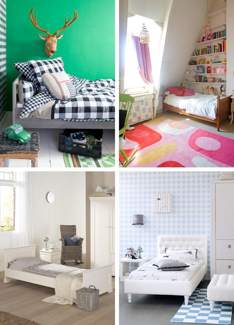 vier tiener slaapkamer ideen