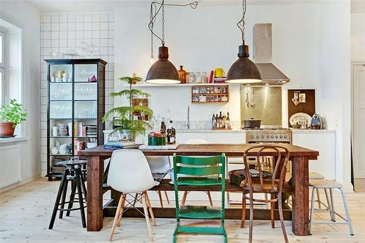 Scandinavische Vintage Woonkamer : Industrieel interieur scandinavisch interieur industriële
