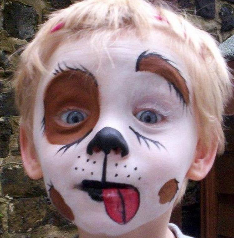 Halloween Schmink Kind.Schmink Kind Foto Geplaatst Door Toerzeilster Op Welke Nl