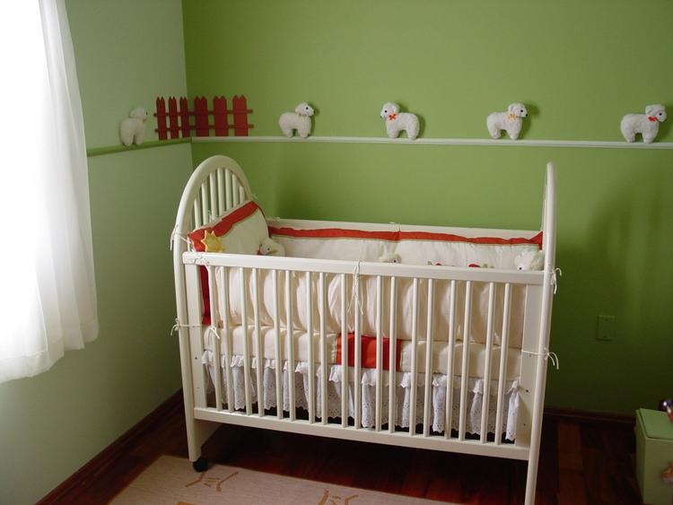 Babykamer In Nisje : Misschien is het schaapjesthema leuk voor onze nieuwe babykamer
