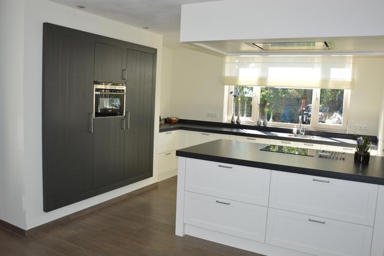 Uitzonderlijk Keuken in modern landelijke stijl. Met kook schiereiland en  GU07