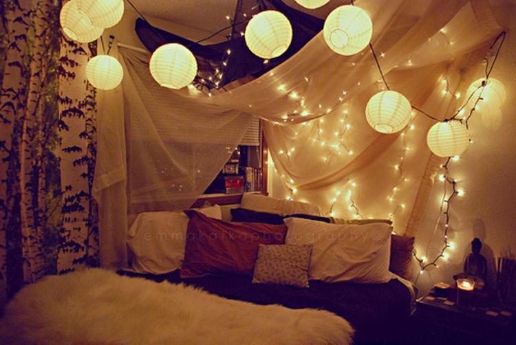 Pimp je kamer terug helemaal op met lichtjes en lampionnetjes de