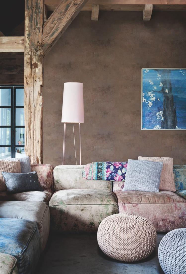 Mooie kleurencombinaties in woonkamer.. Foto geplaatst door Stylin ...