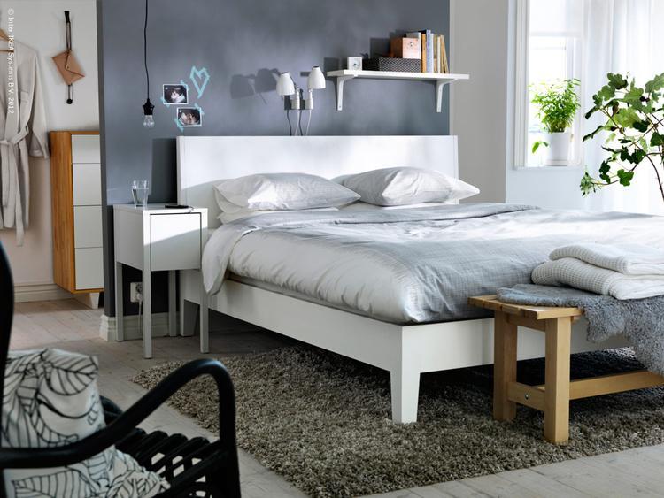slaapkamer ide met ikea nordli bed . foto geplaatst door wietz op, Deco ideeën